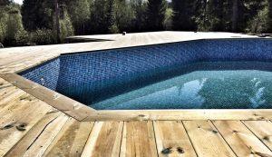 Altan och pool