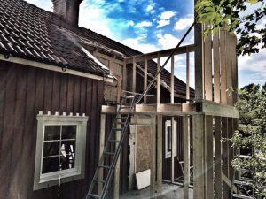 Fasadrenovering Järna